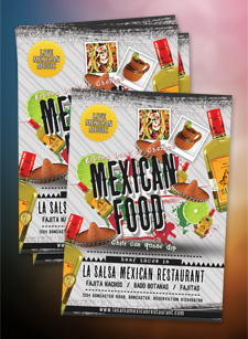 Mexican Restaurant Flyer